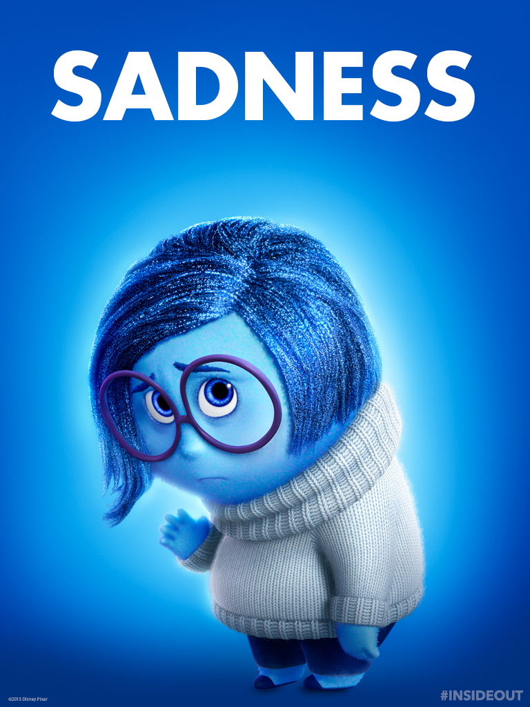 inside out Sadness tablet