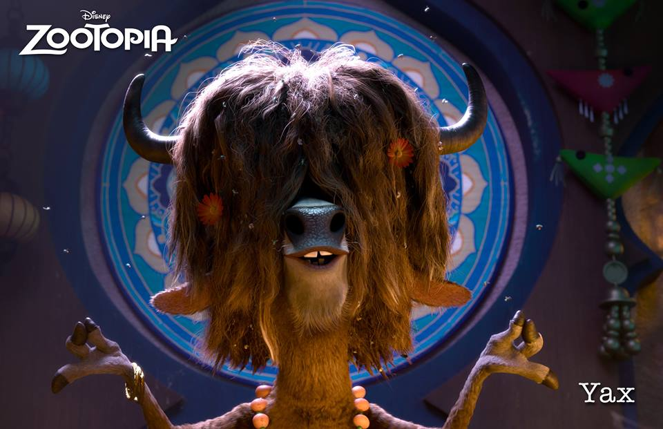 zootopia yax the yak