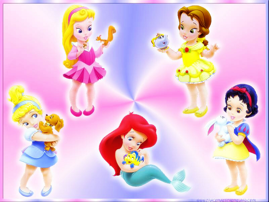 babies disney princess