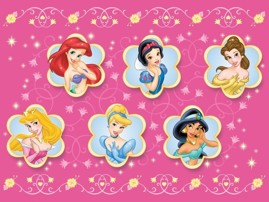 disney princess characters