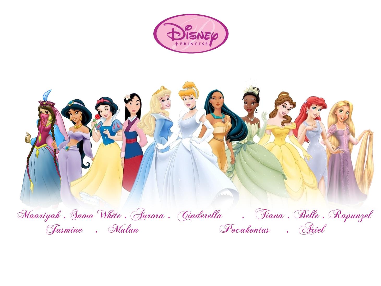 Disney Princesses Names Pictures Disney Princess Names