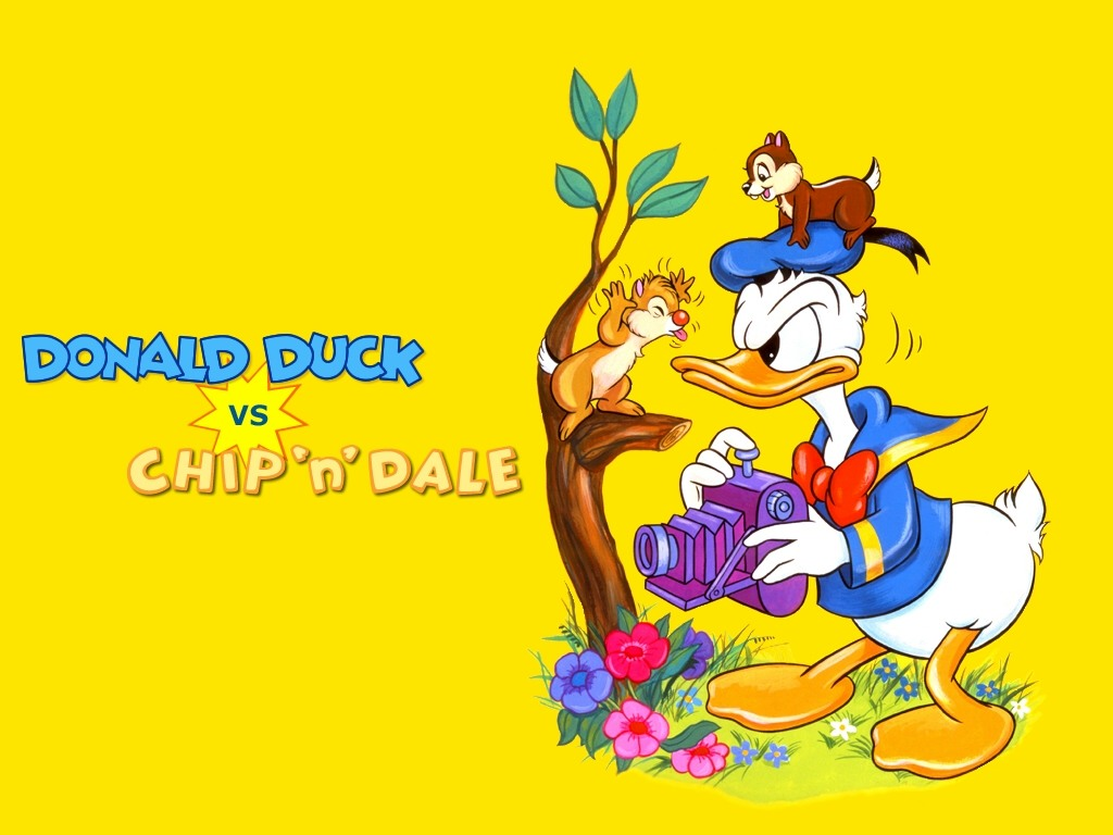 chip and dale duck