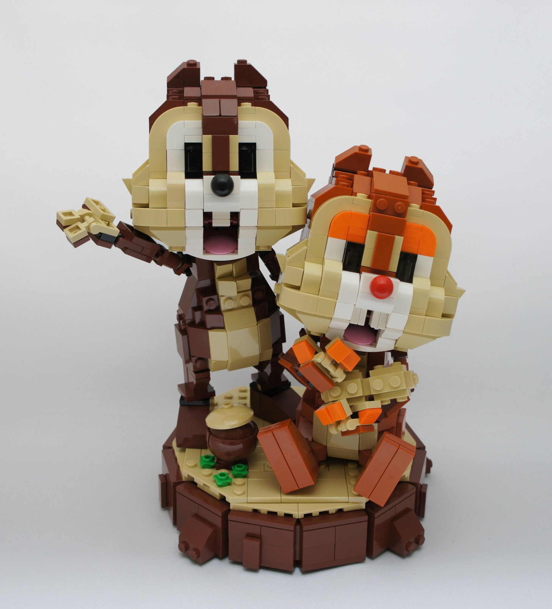 chip and dale lego toys