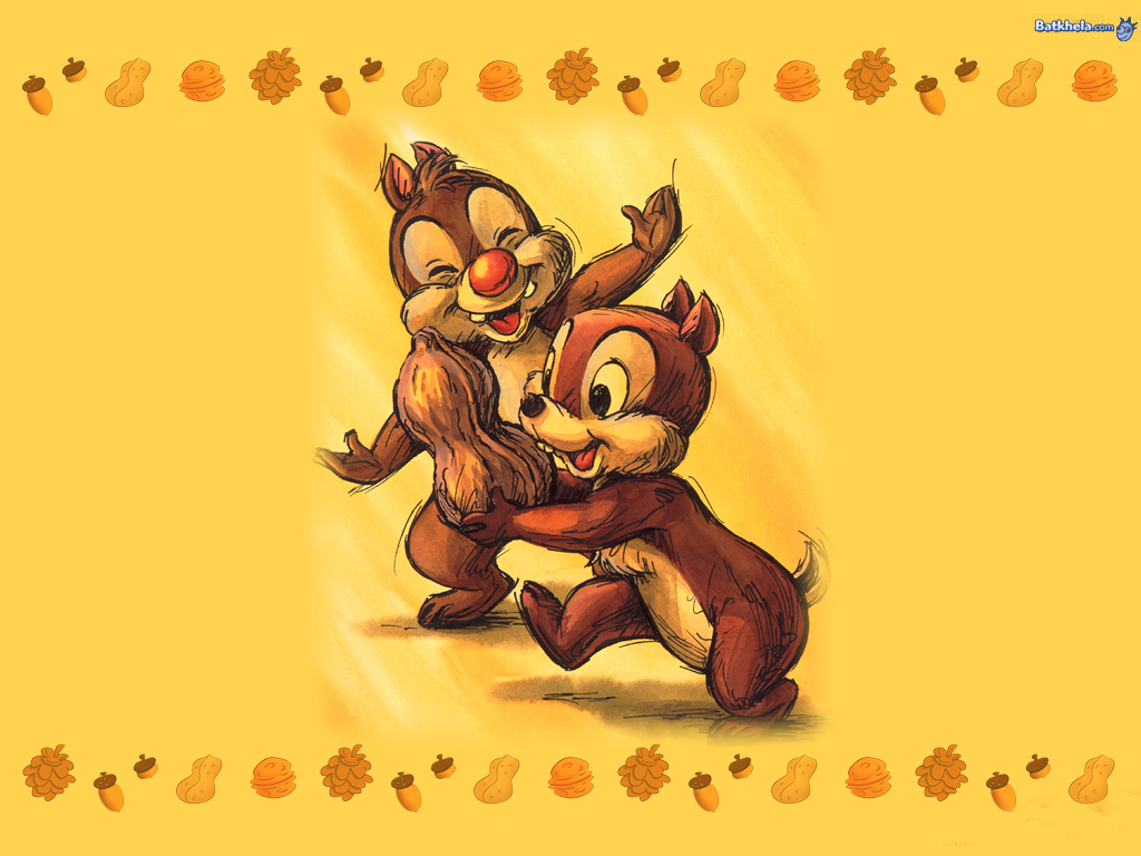 chip n dale childhood