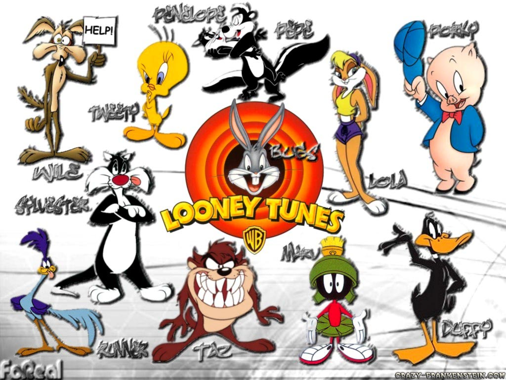 looney tunes characters with names