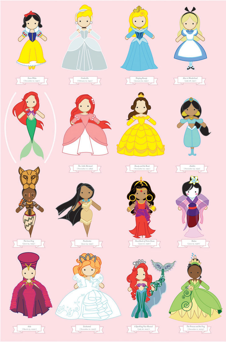 disney princess poster by - photo #45