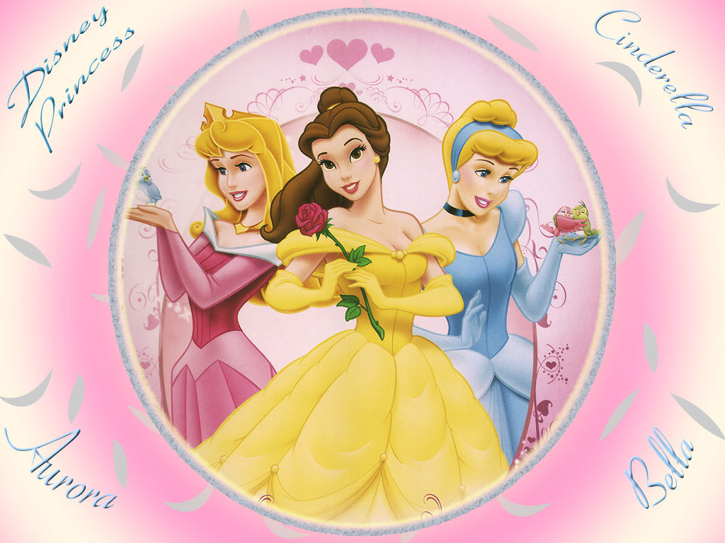 Disney Princesses mirror