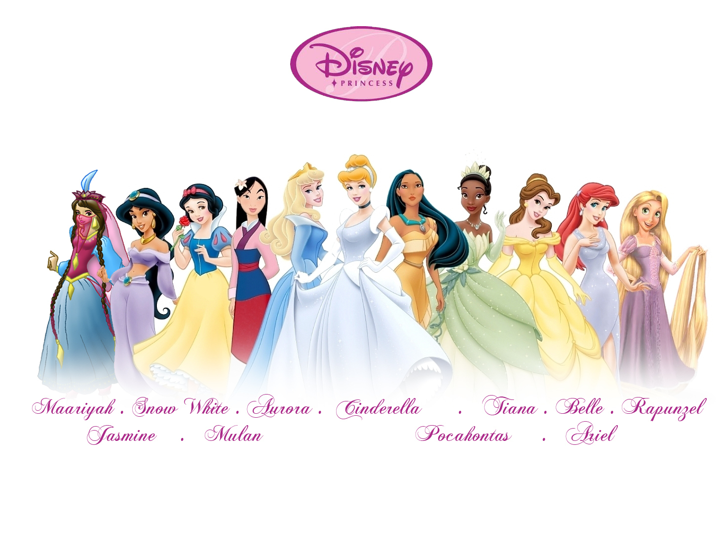 New Disney Princess Line Up