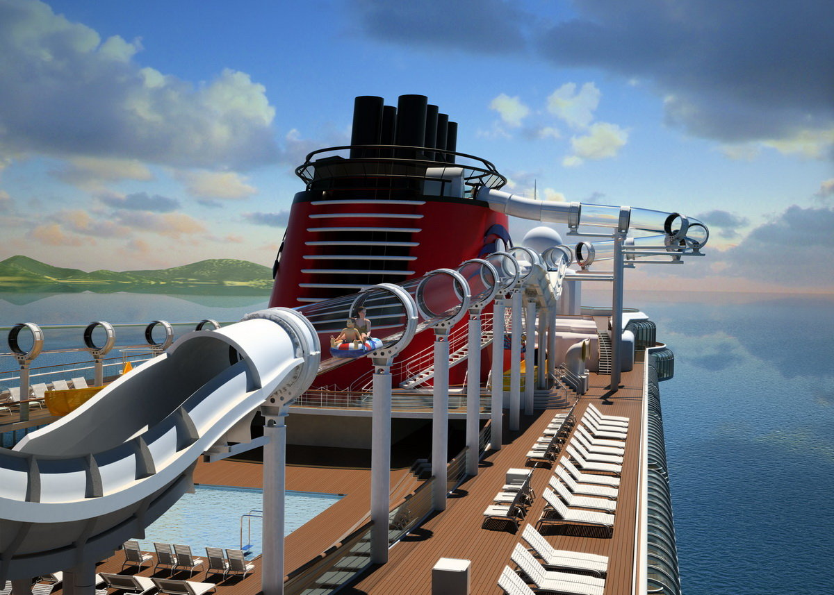 Disney cruise AquaDuck
