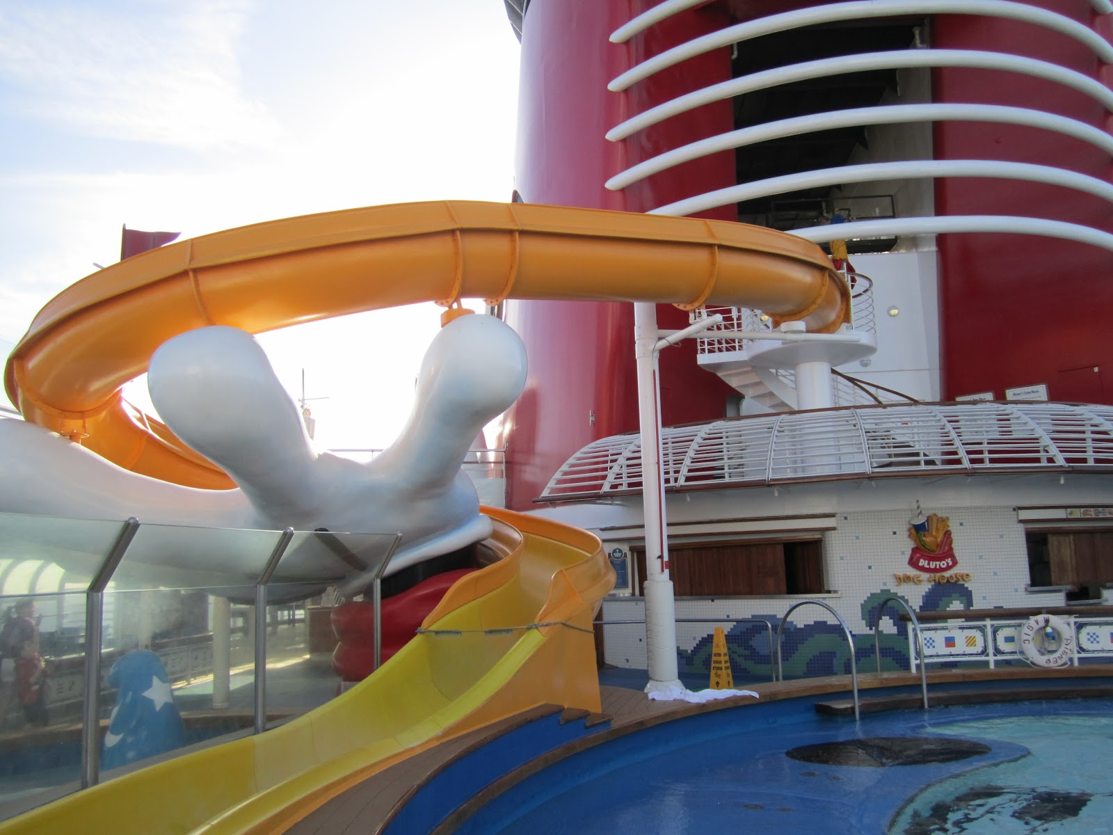 disney cruise slide