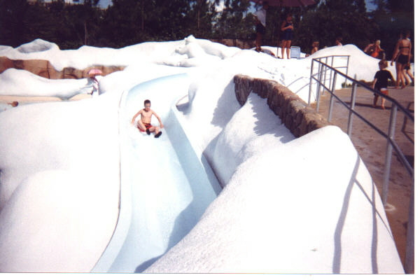 disney kiddie slide