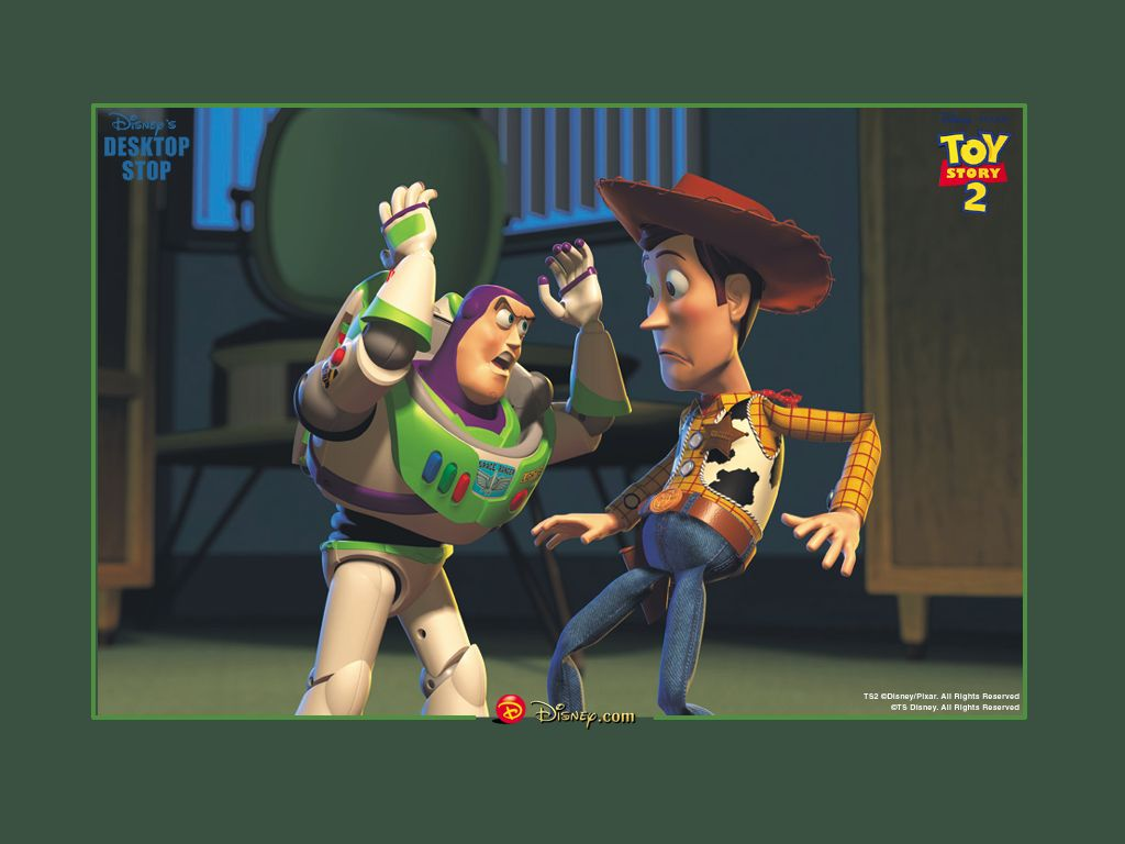 toystory 2 wallpaper 1024