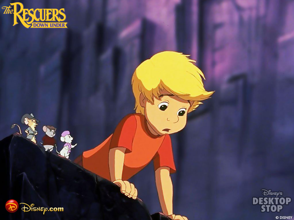 rescuers down wallpaper
