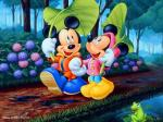 mickey and Minnie Mouse 1024x768