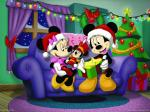 mickey mouse christmas-night