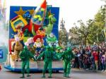 parade in disneyland paris