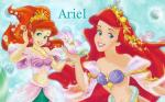 Princess Ariel the little mermaid