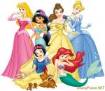 Disney Princess colouring